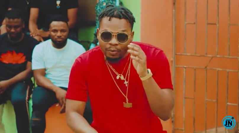 Checkout This Video Of Olamide Smoking & Vibing To His New Single 'Choko Milo'